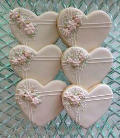 New cake decorating wedding sugar cookies Ideas #wedding #cake #cookies