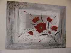 peinture abstraite bouquet de fleurs http://www.alittlemarket.com/boutique/peinture_crea-276258.html