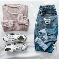 Best Cute Fall Outfits Part 16 Cute Outfits For School, Cute Casual Outfits, Outfits For Teens, Teen Fashion Outfits, Mode Outfits, Style Fashion, Cheap Fashion, Fall Fashion, Womens Fashion