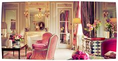 Plaza Athenée by DolceDanielle, via Flickr I want to stay here next time I go to Paris