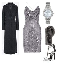 """Silver"" by marcsi-turcsanyi on Polyvore featuring Badgley Mischka, Tom Ford, Citizen, Maison Margiela and Lilly e Violetta"