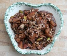 Ashkenazi Charoset recipe submitted by a Central Synagogue congregant: This Charoset, a sweet mixture of fruit, nuts, wine and spices, was eaten with the other symbolic foods during the Seder. My mother or father made the Charoset in the early days, but eventually it became my responsibility. I have been making Charoset for Passover (with great pleasure) for about the last 25 years using the following family recipe. This recipe is consistent with Ashkenazi tradition.