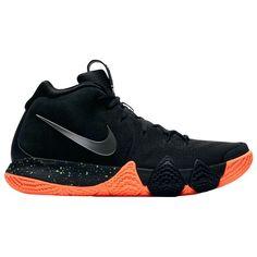 dfb6953d29a4 Nike Kyrie 4 Men s (Size 8.5) Venus Flytrap Black Orange 943806-010