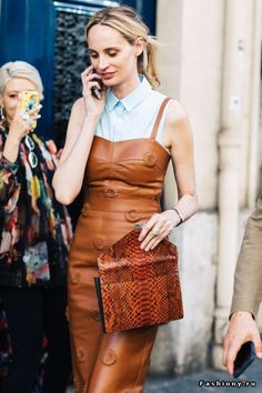 Fashion Week Haute Couture осень-зима 2017-2018 - street style