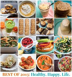 Best of 2013: Top 25 Vegan Food Posts on Happy Healthy Life! Satisfy your sweet and savory cravings with delicious vegan recipes.