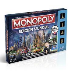 Juego MONOPOLY EDICION MUNDIAL Precio 39,98€ en IguMagazine #juguetesbaratos