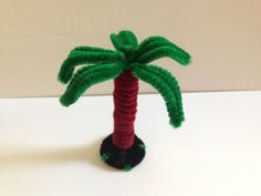 How to make a Pipe Cleaner Palm Tree