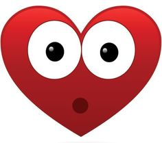 This heart has its eyes glued to something! Heart Smiley, Heart Emoticon, Emoticon Faces, Smiley Emoji, Love Heart Images, I Love Heart, Smiley Symbols, Emoji Movie, Painted Rocks Kids
