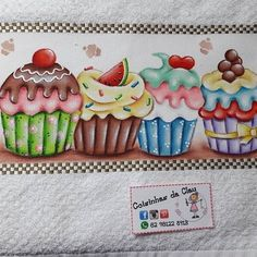 Cupcake Coloring Pages, Frozen Toys, Cupcake Drawing, Baby Dress Design, Coloring Tutorial, Beautiful Gif, Decoupage Paper, Kitchen Art, Fabric Painting
