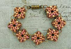 Linda's Crafty Inspirations: Bracelet of the Day...Reversible Tara Bracelet