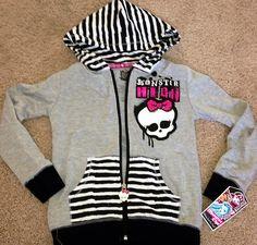 Monster High Girl's Jacket Hoodie New Design