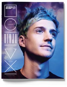 """Popular Fortnite player in the world, Tyler """"Ninja"""" Blevins, will be the first professional esports player to be featured on the cover of ESPN The Magazine. Valhalla, Nba Season, Basket Ball, Esports, News Games, Lebron James, Fashion Games, Espn, Fashion Stylist"""