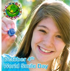 The first Friday of October is World Smile Day!  Celebrate this special day with us by making someone smile.