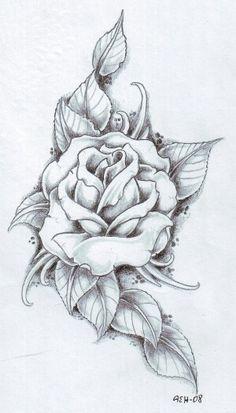 rose thorn bush tattoos - Google Search