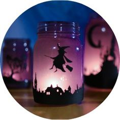 Enchanting Halloween Lanterns