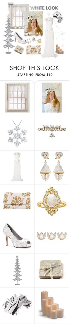 """White look"" by vualia ❤ liked on Polyvore featuring Lichtenberg, Erickson Beamon, Raishma, Anton Heunis, Effy Jewelry, Dyeables, Cultural Intrigue, Bobbi Brown Cosmetics, Frontgate and Winter"