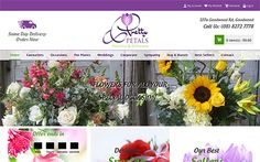 "We have designed an ecommerce website ""Pretty Petals"" which is well known as flower arrangements and plants for delivery to friends and loved ones in the Adelaide, Australia."