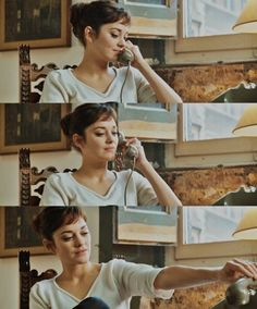 I just watched this movie and i think im inspired to try short bangs!