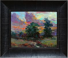 """After the Storm by Dean Bradshaw 16"""" x 20"""" oil Meyer Gallery"""