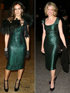 Two Celebrities One Dress Here You Can See Many Spotted In The Same On Or Diffe Event Who Wore It Better