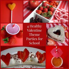 4 Healthy Valentine's Day Theme Parties for School (& Home!)