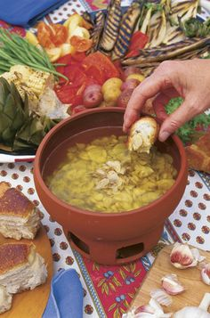 If you don't know what Bagna Cauda is, you should. Find out here, http://www.vegetablegardener.com/item/2974/bagna-cauda#