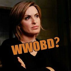 """YES! Keep calm and ask yourself, """"What would Olivia Benson do?"""" The answer is usually kick ass while looking gorgeous. (Thank you for this, Daphney!)"""