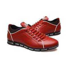 Sapatenis Social Masculino em Couro Red Calçados Elegante Sapato Casual - Calitta