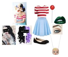"""""""Melanie Martinez"""" by just-mrs-radke-no-bigdeal154 ❤ liked on Polyvore featuring Michael Kors and MANGO"""