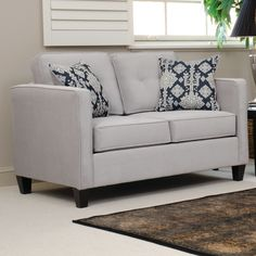 Modern Sectional Sofas Mansfield Leather Sofa Quick Ship Sofas u Loveseats I need more storage because Pinterest Loveseats Leather sofas and Ships