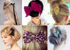 Un #fiocco tra i #capelli: tante idee per personalizzare le tue #acconciature