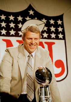 Bill Parcells, head coach from 1983-1990.