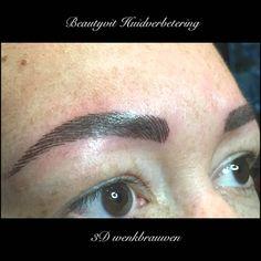 3D Hairstroke van de wenkbrauwen. Ultra dunne haartjes worden gepigmenteerd in de huid. Dit lijkt net of dit u eigen haartjes zijn. Eindelijk weer mooie volle wenkbrauwen. Kijk voor uitgebreide informatie op http://www.beautyvit.nl/Specials/Permanente-make-up/