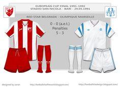 1991 European Cup Final card.