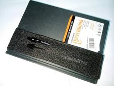Black Vines notebook elastic pencil case bandolier journal pen holder plein air sketch book stationery tool, id206001 gift for artist writer