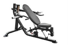 Powertec Fitness Workbench Multi Press with Isolateral Arm, Black | Comprar en Mexico