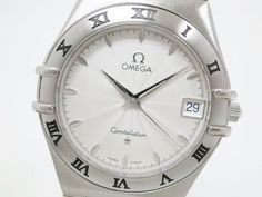 #Omega Constellation Guilloche Dial SSTQuartz Mens Watch 1512.31(BF065569). Authenticity guaranteed, free shipping worldwide & 14 days return policy. Shop more preloved brand items at eLADY: http://global.elady.com