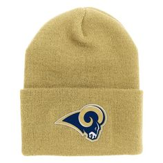 838259737df NFL End Zone Cuffed Knit Hat K010Z St Louis Rams One Size Fits All   Check