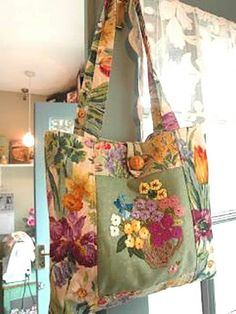 Best 12 I've been using some of the lovely vintage hand embroidered pieces that I bought from Jill , in my work this week. There are seve… – SkillOfKing. Patchwork Bags, Quilted Bag, Crazy Patchwork, Handmade Purses, Handmade Handbags, Bag Sewing, Shoe Stretcher, Carpet Bag, Boho Bags