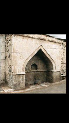 Fountain-Historic fountain-Constructive: Unknown-Year built: Unknown-Güyer street-Çarşı neighborhood-Bor-Niğde