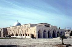 The first headquarters of the Knights Templar, Al Aqsa Mosque, on Jerusalem's Temple Mount. The Crusaders called it the Temple of Solomon.
