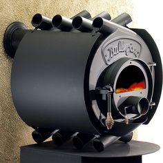 Possibly the coolest looking wood burning stove. It's Canadian!