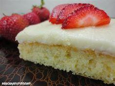 Granny's White Sheet Cake