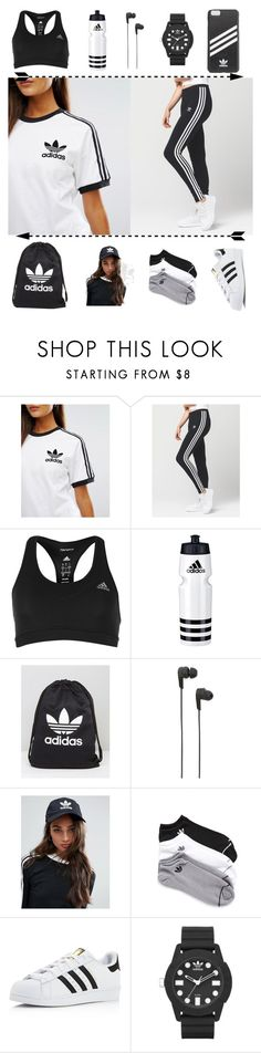"""Adidas "" by molldollc ❤ liked on Polyvore featuring adidas, B&O Play and adidas Originals"