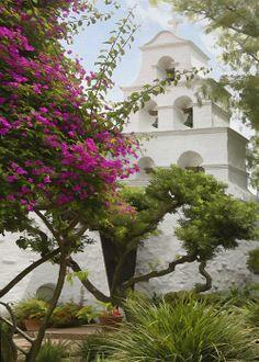 Mission San Diego de Alcalá, San Diego, California by Sharon Foster