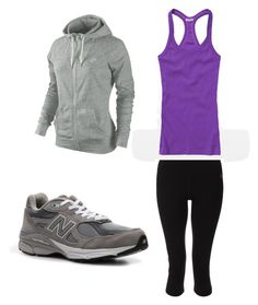 Joan Watson's outfit #7 by lethally on Polyvore featuring NIKE, Zumba, New Balance, elementary and joan watson