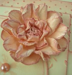 Making your own paper flowers with video tute