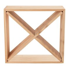 Wine Enthusiast Compact Cellar Cube Wine Rack in Natural 640 24 03 - The Home Depot