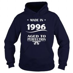 AGE 1996 MADE IN 1996 AGED TO PERFECTION T-SHIRTS, HOODIES, SWEATSHIRT (35.99$ ==► Shopping Now)