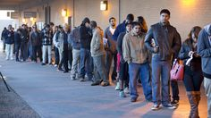 PHOENIX — Dozens of young immigrants brought to this country illegally by their parents — Arizona's dreamers — arrived at Motor Vehicle Division offices early to apply for driver's licenses Monday.